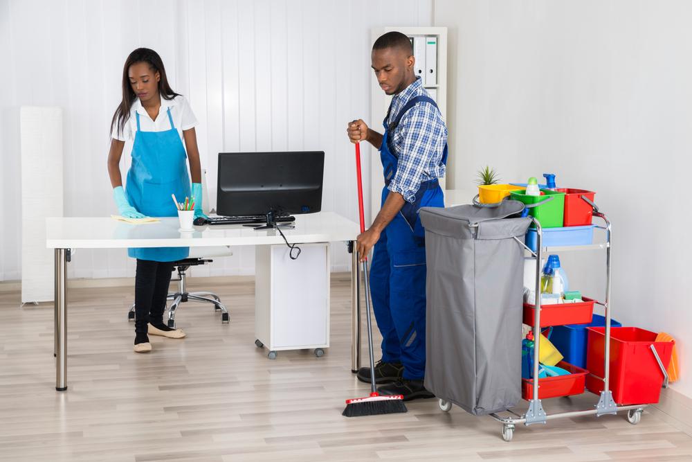 Entreprises de nettoyage pour bureaux à Paris